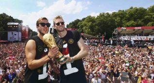 Alemania tenía preparados los festejos 13 días antes de la final