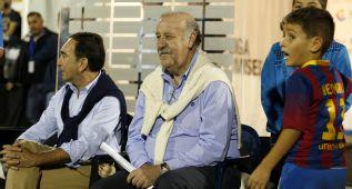 """Vicente del Bosque: """"Algo hemos cambiado en el juego"""""""