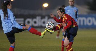 El gol de Sonia da la victoria en el amistoso ante el Atlético