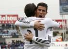 El martillo de Cristiano hace campeón de invierno al Madrid