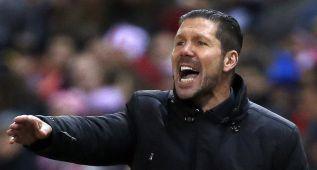 """Simeone: """"Ahora sacaremos provecho del Valencia-Sevilla"""""""