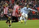 El Athletic sigue dormido y ya suma siete jornadas sin ganar