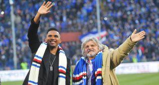 Oficial: Samuel Etoo firma tres años y medio con la Sampdoria