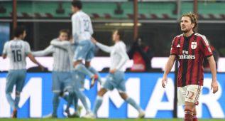 La Lazio gana en San Siro y echa al Milan de la Copa