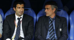 "Mourinho: ""Luis Figo garantiza un mejor futuro para la FIFA"""