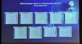 Grupo asequible para la Sub-21 en su camino a la Euro de 2017