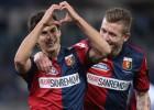 Un gol de Perotti permite que el Genoa derrote al Lazio