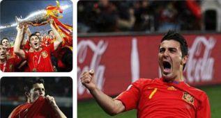 David Villa rememora su debut con la selección hace 10 años