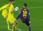Dos posibles penaltis para el Barça: sólo se pitó el segundo