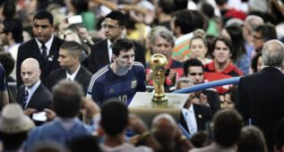 Una foto de Messi gana el World Press Photo del deporte