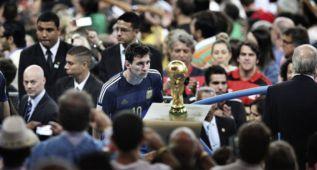 Una foto de Messi gana el World Press Photo del deporte