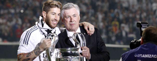 """Ramos: """"Ancelotti, Caparrós y Luis, mis mejores entrenadores"""""""