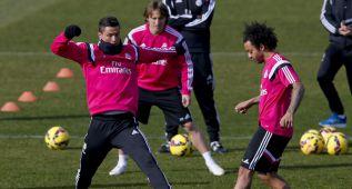 Bale y Cristiano se incorporan al grupo y apuntan al Villarreal