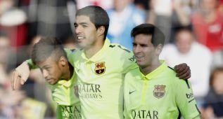 El Barcelona gana a trompicones