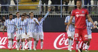 El Málaga vuela hacia Europa