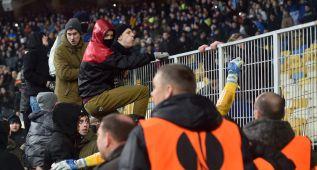 La UEFA cierra parcialmente el campo del Dinamo de Kiev