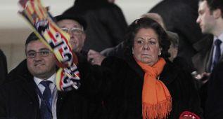 Rita Barberá reitera su oferta de la final en Mestalla