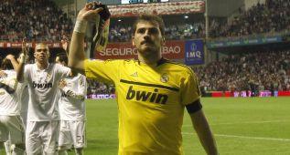 Iker Casillas debuta en San Mamés por segunda vez