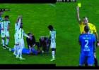 Lacen quedó inconsciente y el árbitro no paró el juego