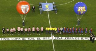 Los internautas suspenderían la final de Copa por pitos al himno
