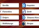Zenit, Wolfsburgo, Nápoles y Fiorentina, los más temidos