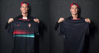 Cristiano presenta la equipación de la selección portuguesa