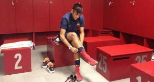 El Barça ocupará el vestuario visitante del Camp Nou