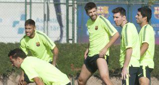 """Piqué: """"Entre Messi, Neymar y Suárez no hay envidias; se nota"""""""