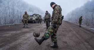 El fútbol no para en Ucrania ni en plena guerra con Rusia