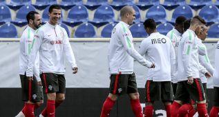Pepe vuelve a entrenarse, pero es duda para jugar el domingo