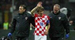 Modric jugará todo el partido ante Noruega, pese a la fiebre