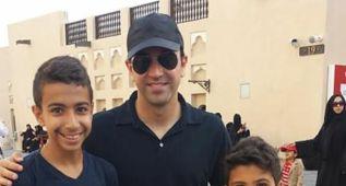 Xavi se deja ver en Qatar