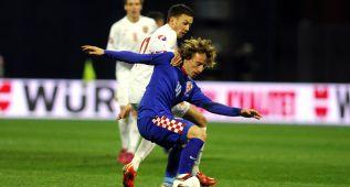 Modric pone color a Croacia en la goleada ante Noruega