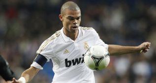 Pepe está en forma y hace menos faltas de las que recibe