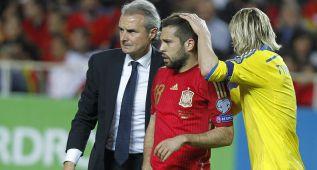 Jordi Alba, diez días de baja