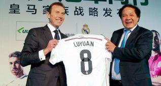 El Madrid presentó su primer acuerdo de patrocinio en China