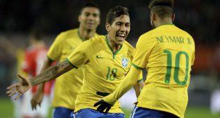 El Atlético va a pujar por la estrella brasileña Firmino
