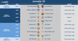 El Sevilla-Real Madrid, será el 2 de mayo a las 20:00 horas