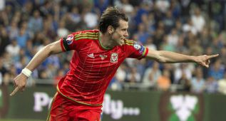 Bale, líder en regates (42) en la fase de clasificación de la Euro