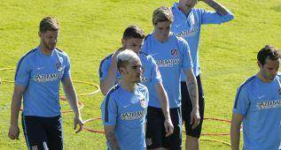 Griezmann vuelve fuerte y deslumbra en el entrenamiento
