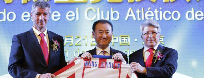 El Grupo Wanda ya tiene el 20% del accionariado del Atlético
