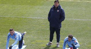 El Mono no participó del pasillo a Simeone: no firmó el contrato