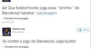 La Prensa de Barcelona ironiza con los tuits culés de Danilo