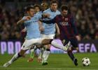 Según ESPN, Demichelis lesionó a Messi en el Barça-City