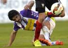 Jonathan Pereira no jugará ante el Sabadell por lesión