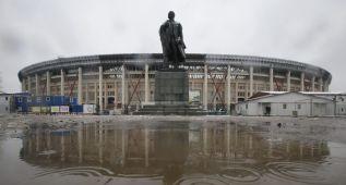 Rusia y la FIFA reducen el aforo del estadio Luzhnikí