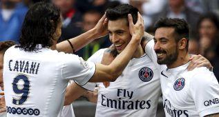 El PSG se cura las heridas del Barça ganando al Niza