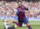 Suárez, Bravo y la suerte mantienen con vida al Barça