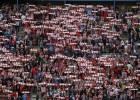 Los 3.161 atléticos se citan en la Plaza de Castilla el miércoles