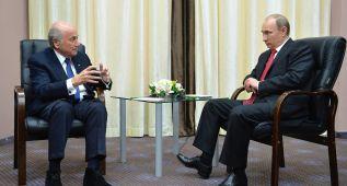 """Blatter a los críticos de Rusia 2018: """"Quedaos en casa"""""""